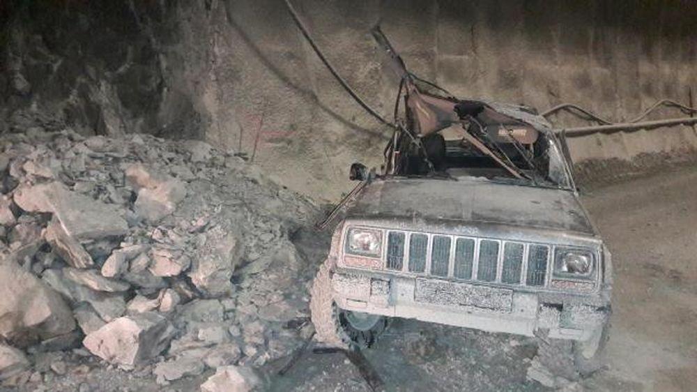 Polícia zverejnila fotografie z nehody v tuneli Višňové, foto 2