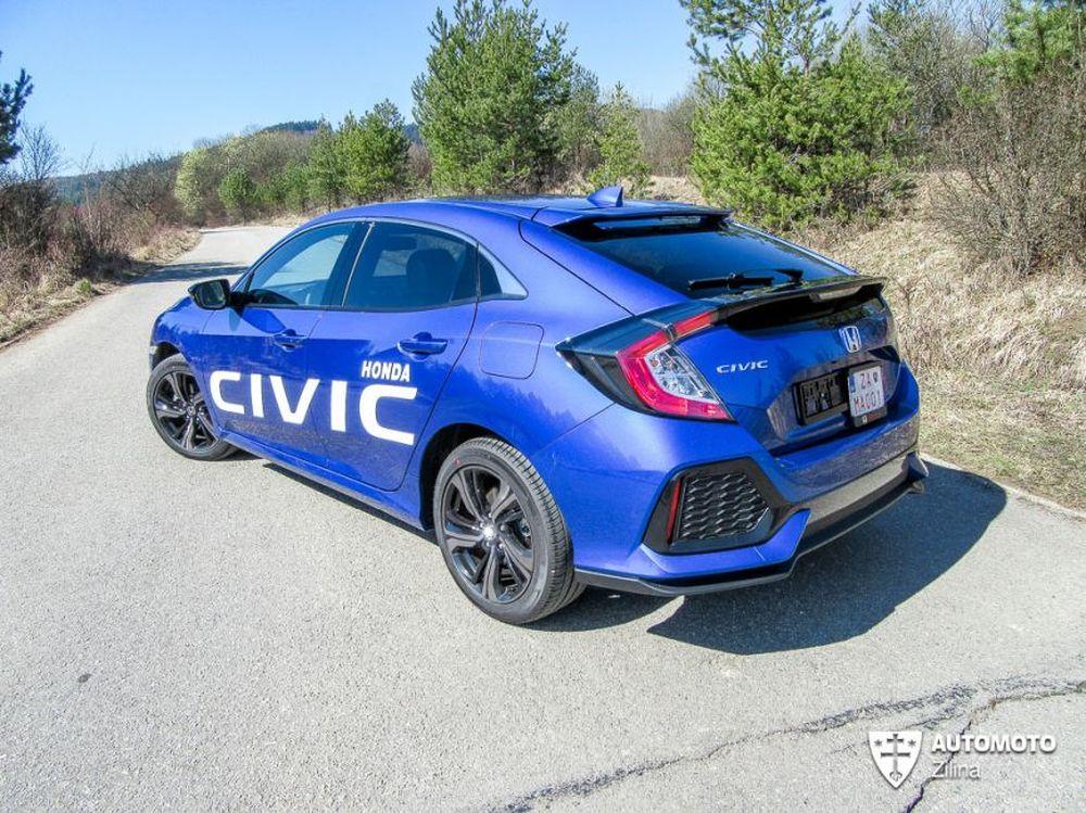 Redakčný test Honda Civic, foto 1