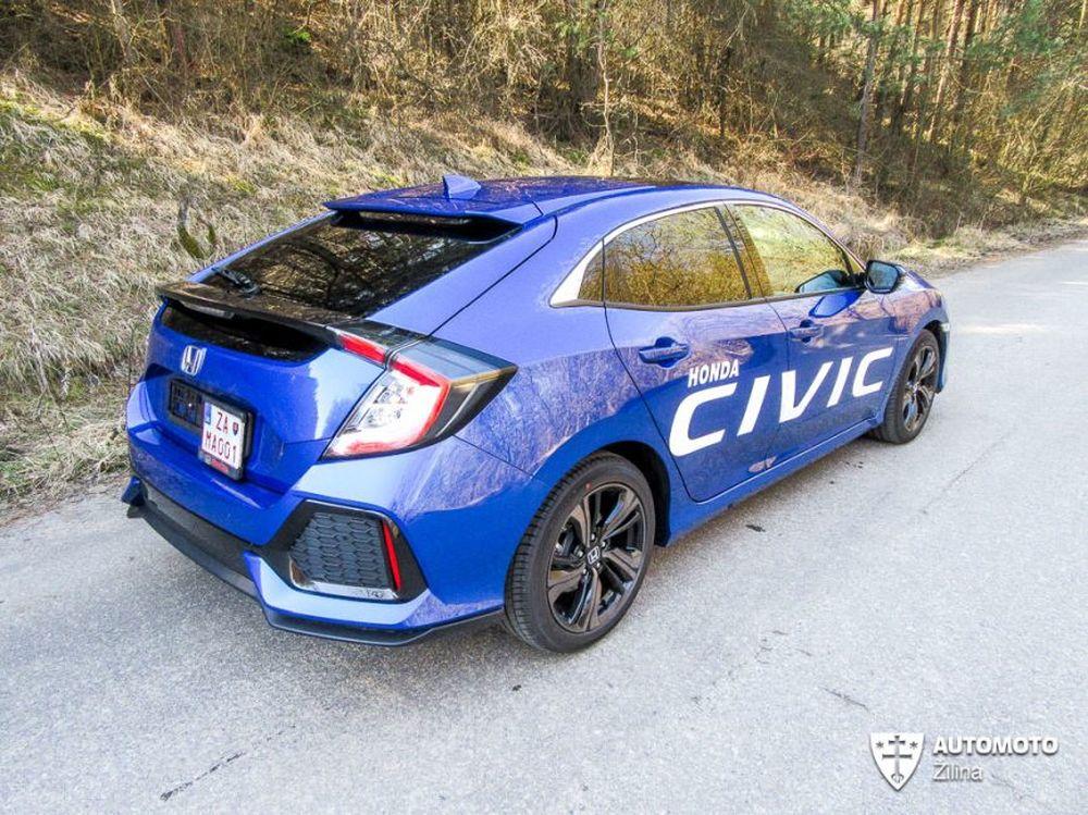 Redakčný test Honda Civic, foto 8