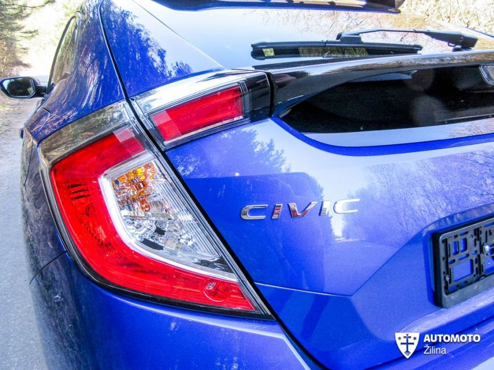 Redakčný test Honda Civic, foto 12