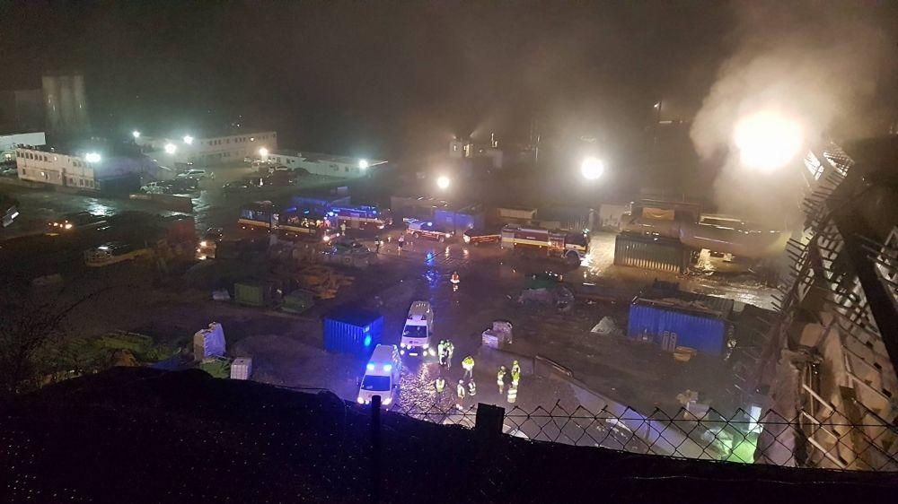 Požiar na tuneli Višňové - 27.4.2017, foto 2
