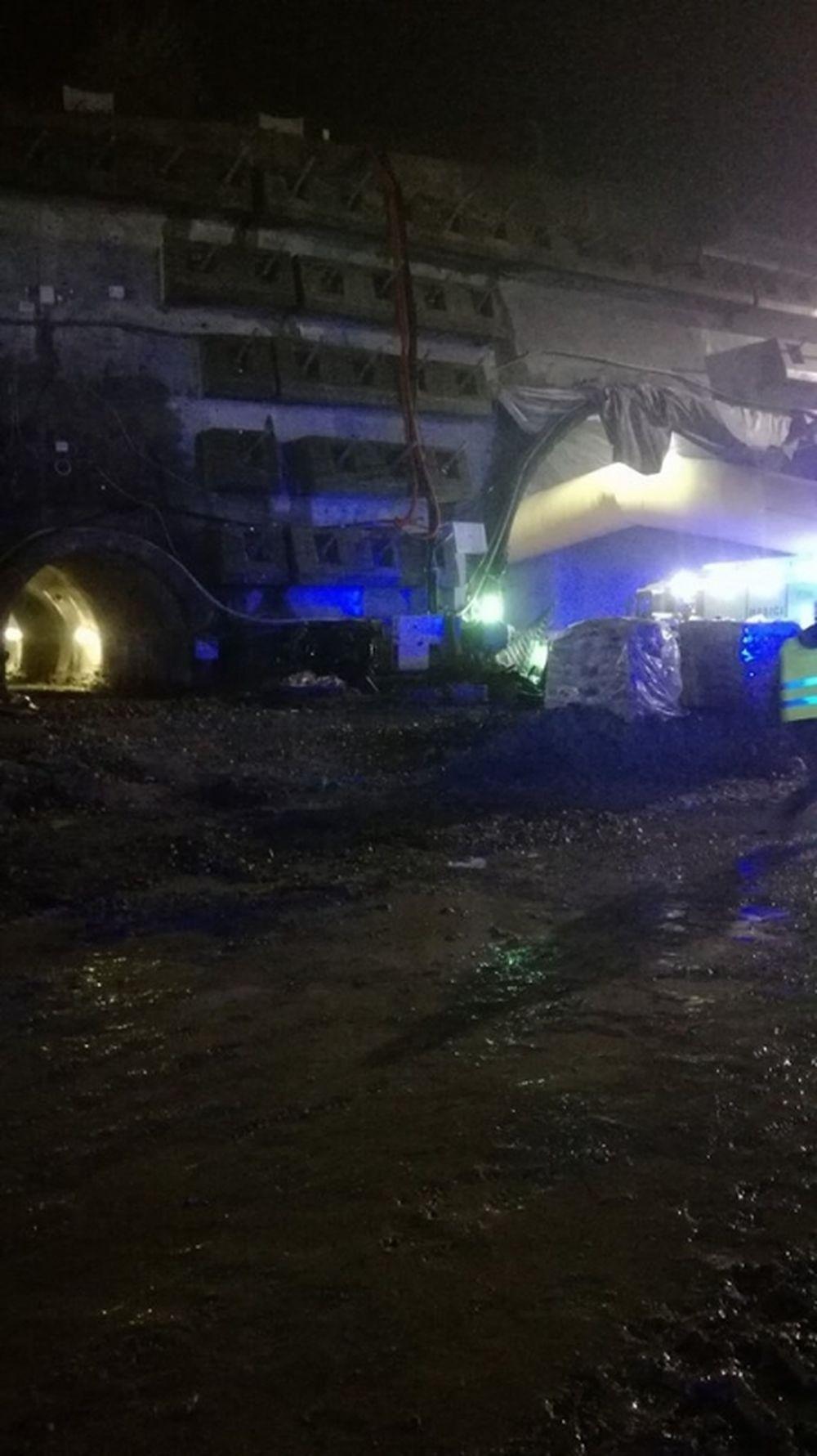 Požiar na tuneli Višňové - 27.4.2017, foto 3