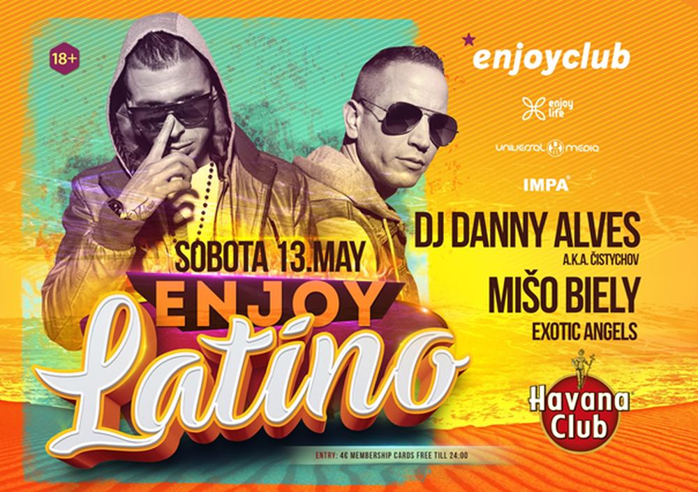 Pozvánka: *enjoyclub opäť ožije latinom, foto 1
