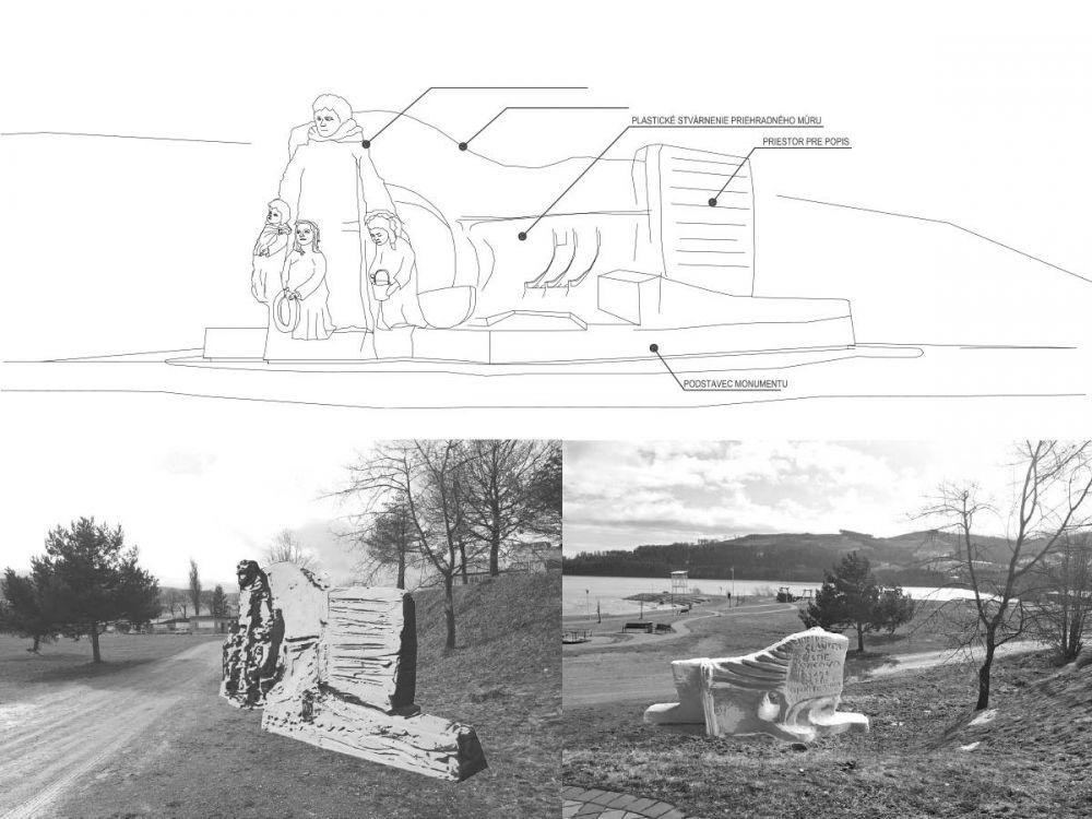 Architektonická súťaž Monument Oravskej priehady - súťažné návrhy, foto 2
