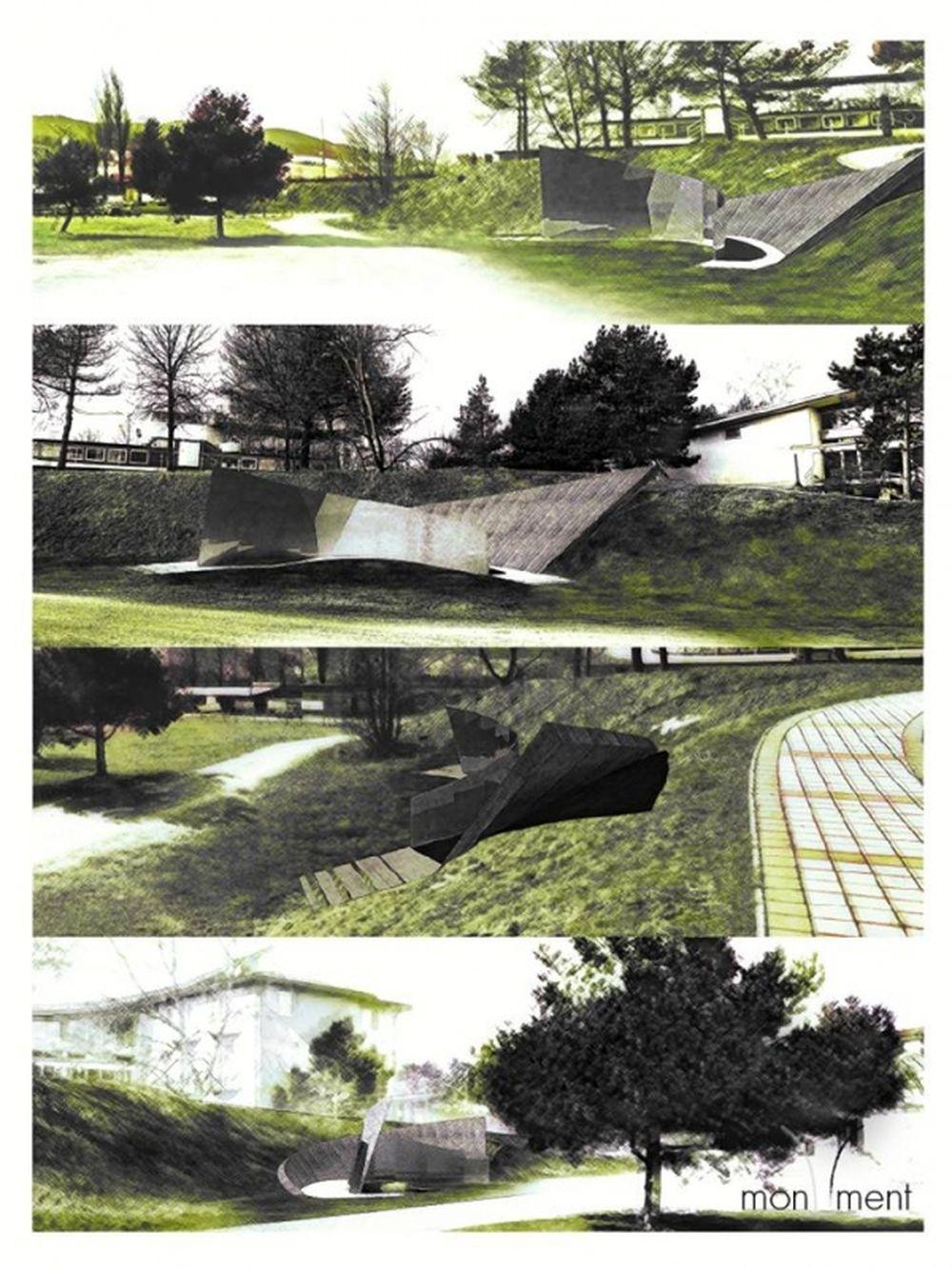 Architektonická súťaž Monument Oravskej priehady - súťažné návrhy, foto 3
