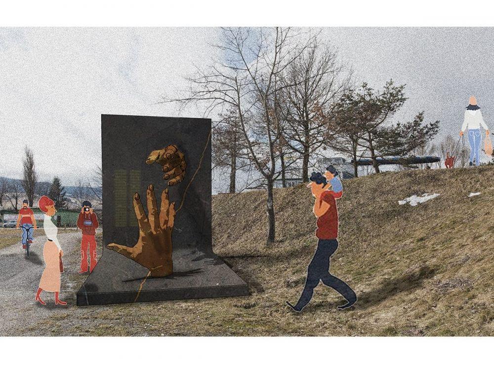 Architektonická súťaž Monument Oravskej priehady - súťažné návrhy, foto 5