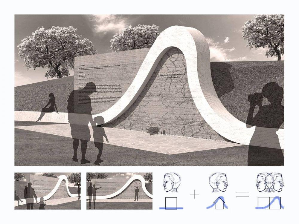 Architektonická súťaž Monument Oravskej priehady - súťažné návrhy, foto 7