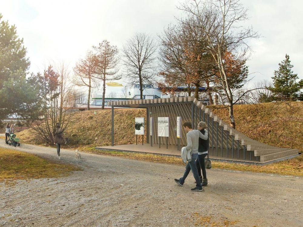 Architektonická súťaž Monument Oravskej priehady - súťažné návrhy, foto 8