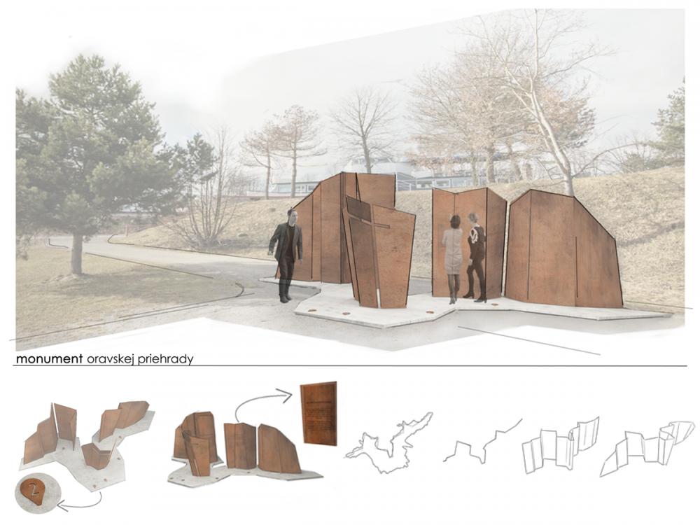 Architektonická súťaž Monument Oravskej priehady - súťažné návrhy, foto 10