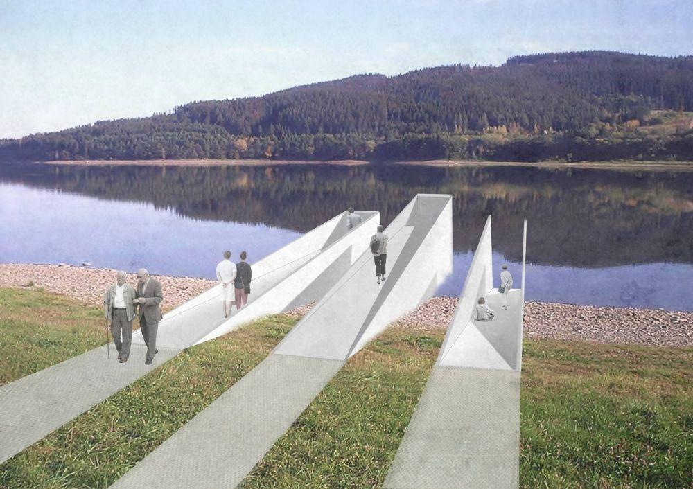 Architektonická súťaž Monument Oravskej priehady - súťažné návrhy, foto 11