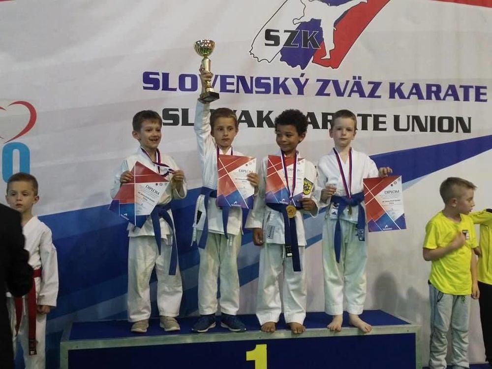 Karate Klub Žilina na Majstrovstvách SR 2017, foto 2