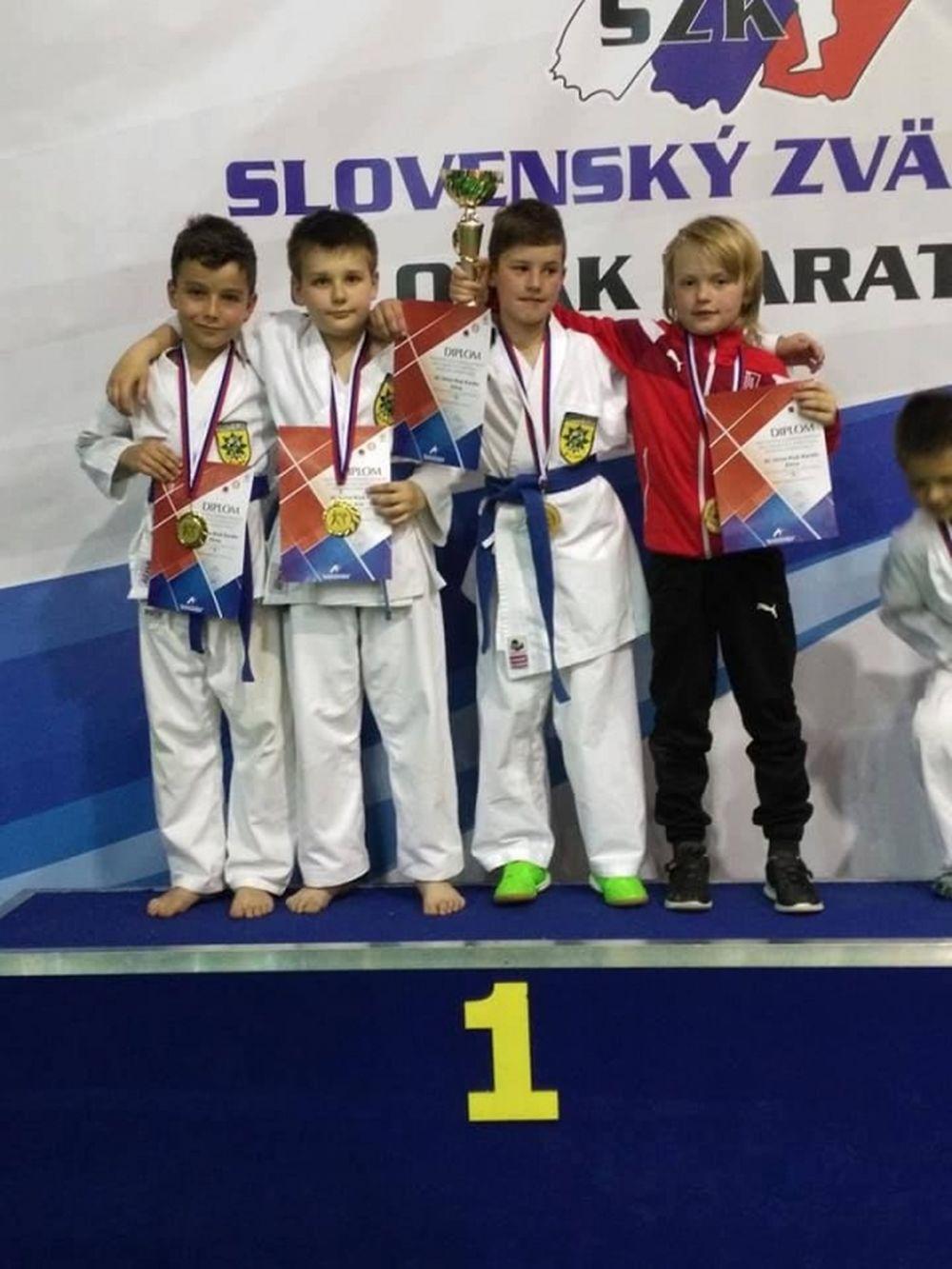 Karate Klub Žilina na Majstrovstvách SR 2017, foto 3