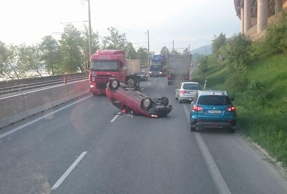 Dopravná situácia v Žiline - 23.5.2017, foto 2