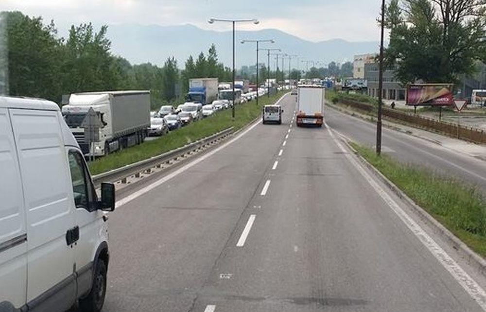 Dopravná situácia v Žiline - 23.5.2017, foto 4