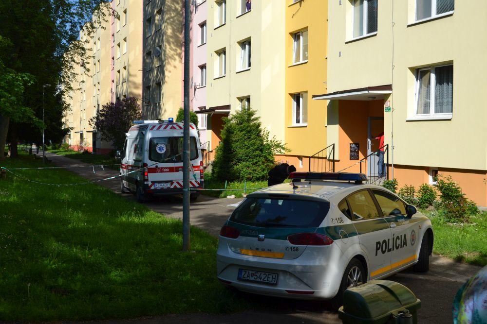 Vlčince, ulica Tulská: muž spáchal samovraždu, jeho matku dobodali, foto 1