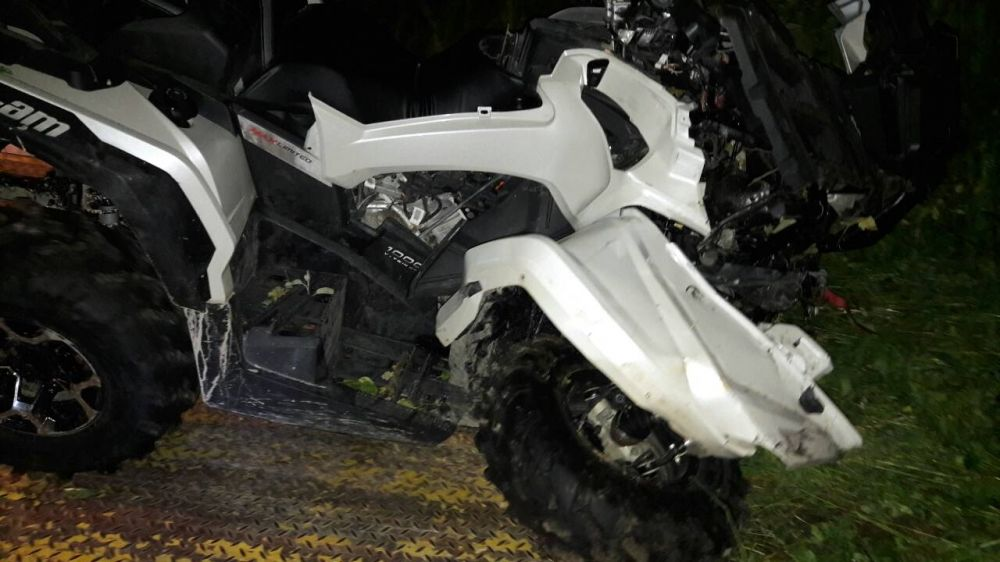 Nehoda štvorkolky v Bytči - 1.6.2017, foto 4