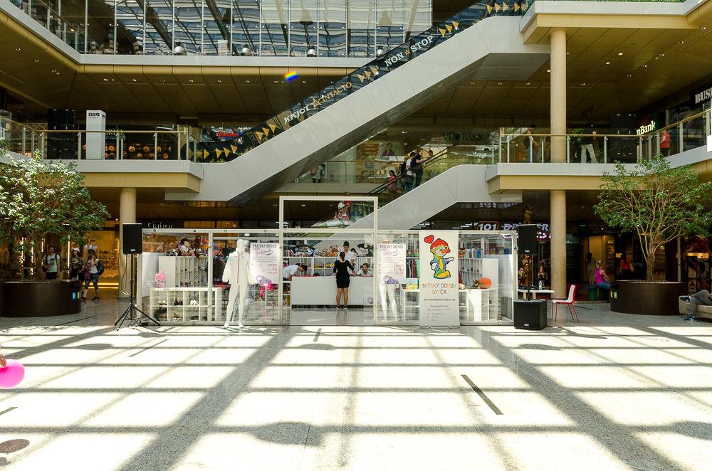Prázdny obchod v žilinskom Auparku - 01. - 04.06.2017, foto 7