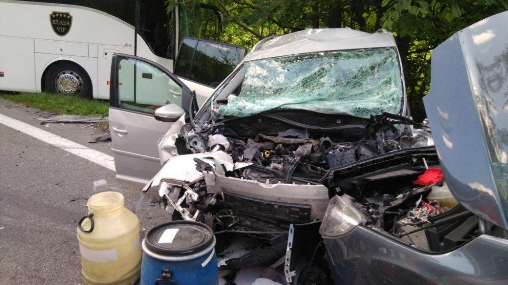 Tragická nehoda, Biely Potok, Ružomberok - 25.6.2017, foto 3