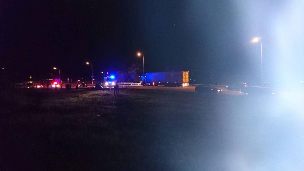 Dopravná nehoda na Rajeckej ceste - 3.7.2017, foto 1