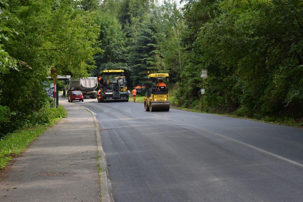 Rekonštrukcia cesty III. triedy v mestskej časti Rosinky, foto 8