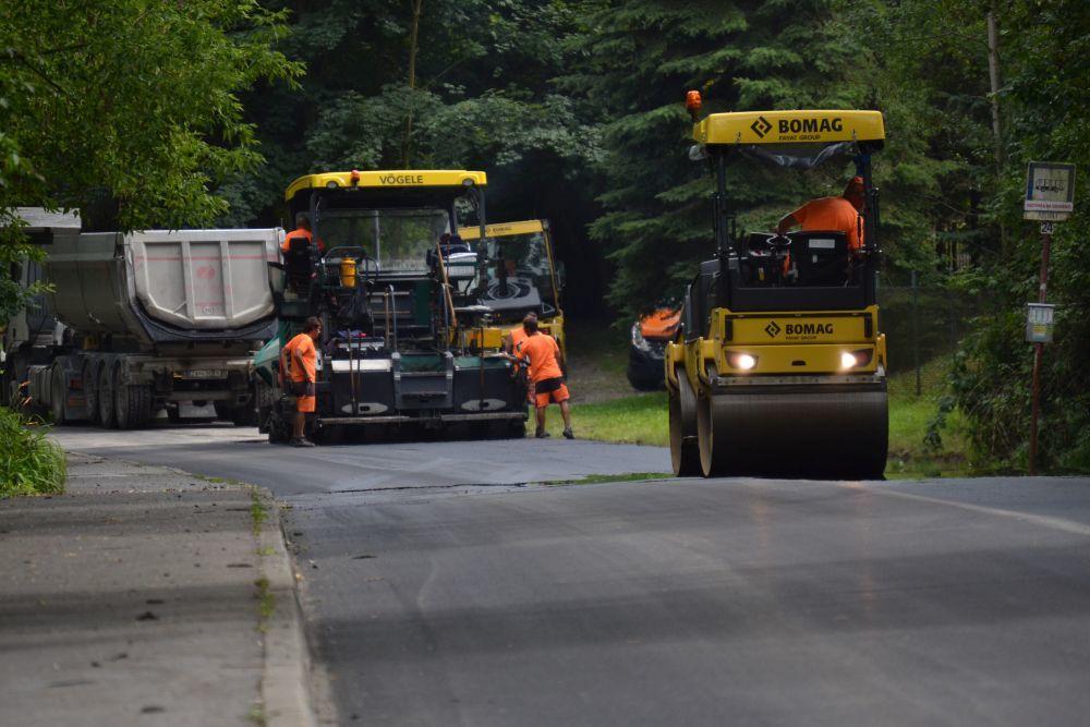 Rekonštrukcia cesty III. triedy v mestskej časti Rosinky, foto 10