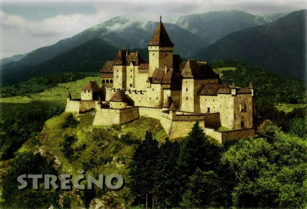 Historické fotografie hradu Strečno, foto 1