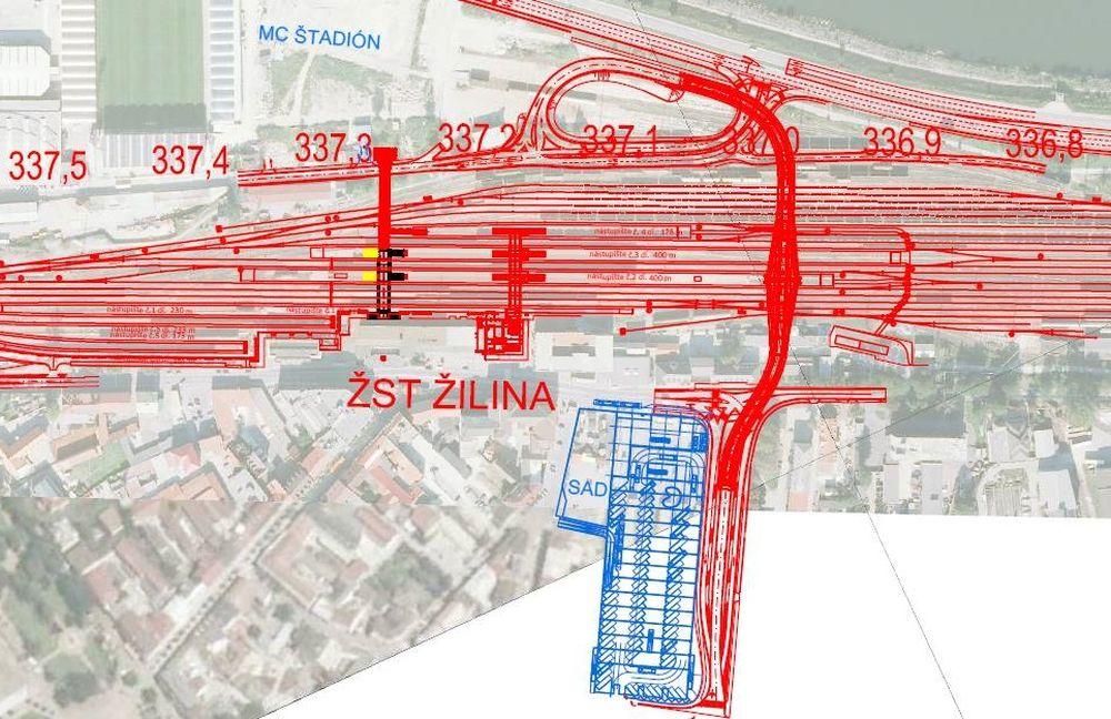 Projektová dokumentácia ŽSR - rekonštrukcia, dostavba a výstavba v uzle Žilina, foto 3