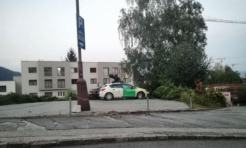 FOTO: Auto Google Street View prišlo do Žiliny, foto 1
