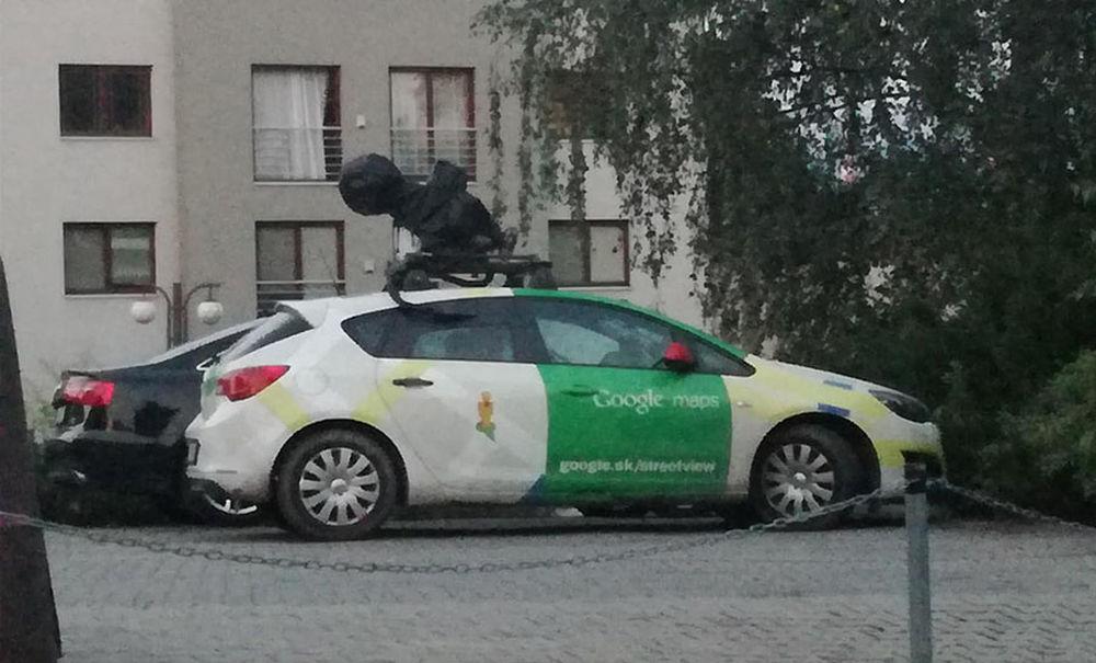 FOTO: Auto Google Street View prišlo do Žiliny, foto 2