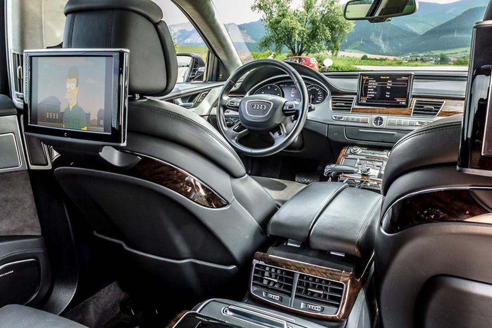 Luxusné Audi A8 Long na predaj - Žilinský samosprávny kraj, foto 6