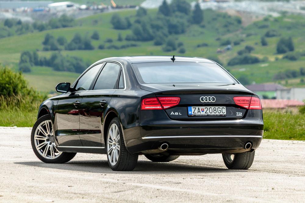 Luxusné Audi A8 Long na predaj - Žilinský samosprávny kraj, foto 8
