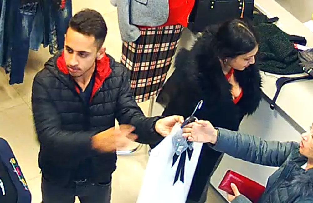 Krádež oblečenie v Liptovskom Mikuláši 15.11.2018, foto 3