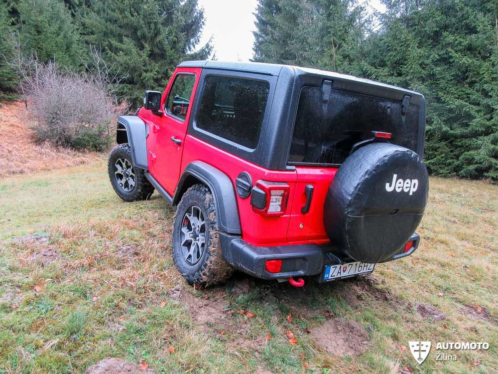 Redakčný test Jeep Wrangler, foto 7