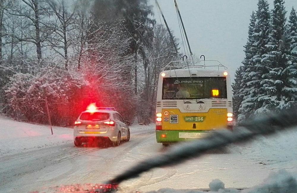 Aktuálna situácia s nepriaznivým počasím v Žiline 3.1.2019, foto 2