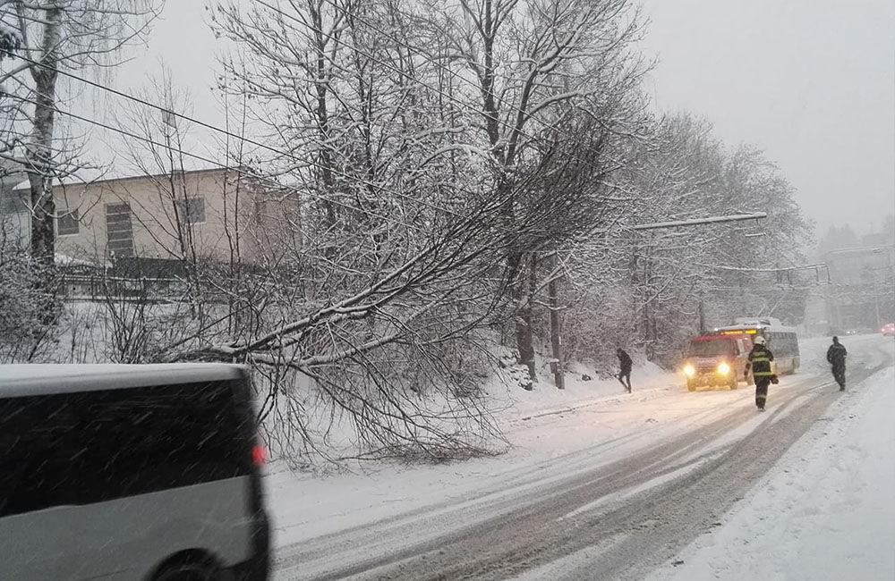 Aktuálna situácia s nepriaznivým počasím v Žiline 3.1.2019, foto 3