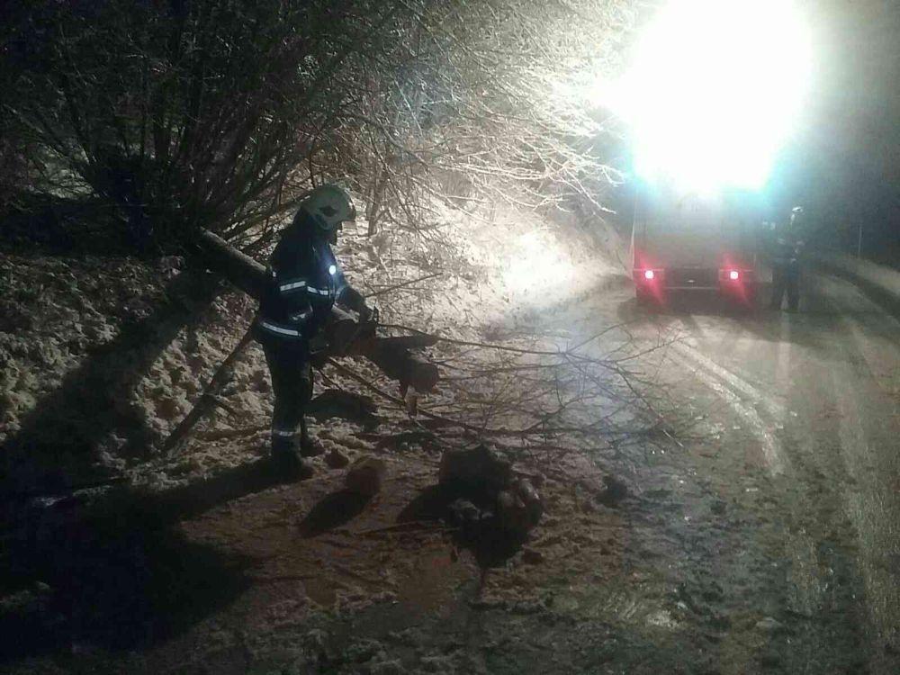 Zásahy hasičov v Žilinskom kraji v súvislosti s nepriaznivým počasím 3.1.2019, foto 3
