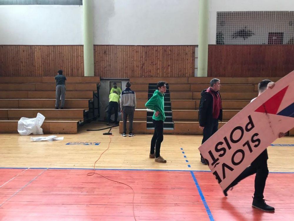 VO AC UNIZA Žilina - telocvičňa Stavbár na Bôriku, foto 1