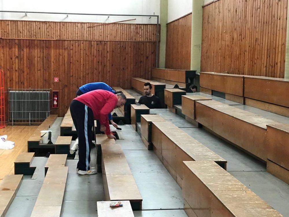 VO AC UNIZA Žilina - telocvičňa Stavbár na Bôriku, foto 3