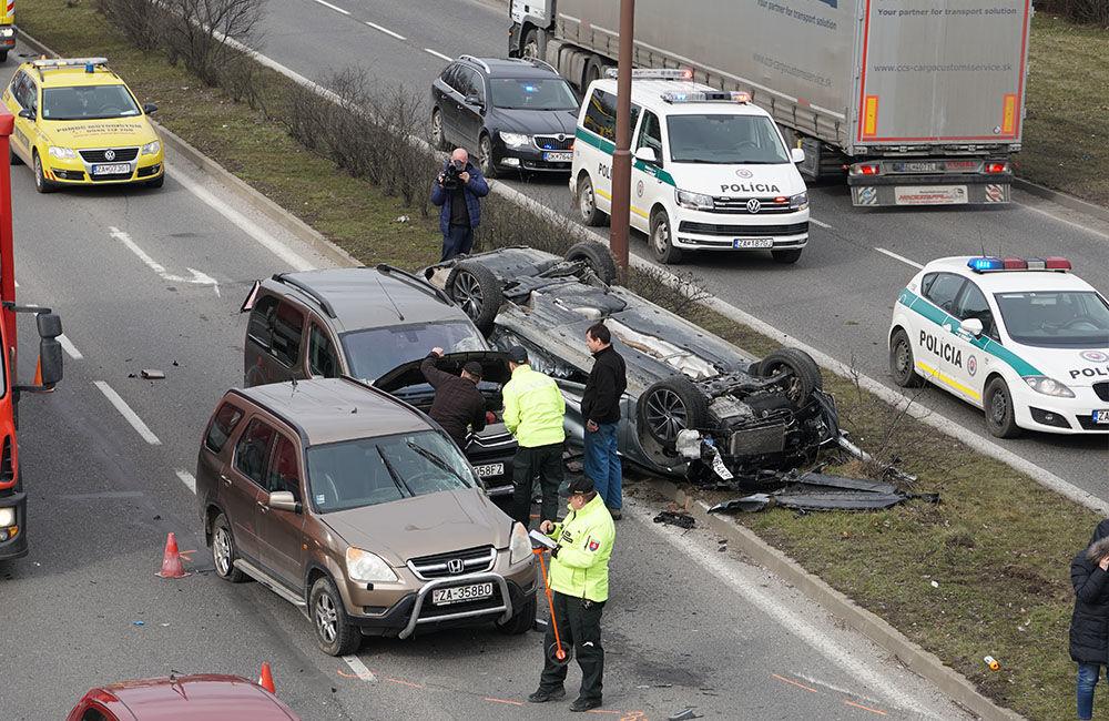 Dopravná nehoda na Košickej ulici 7.3.2019, foto 13