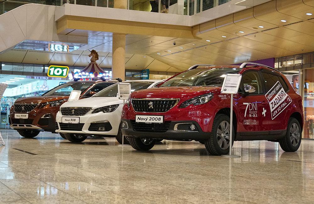 Autosalón Peugeot v Auparku Žilina, foto 2
