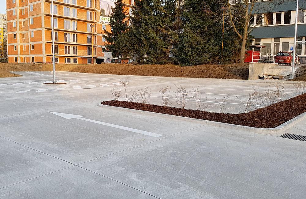 FOTO: Nové parkovisko pri predajni Kaufland a poliklinike ŽILPO bolo otvorené, foto 4