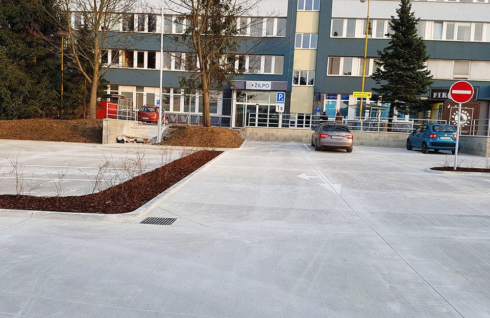 FOTO: Nové parkovisko pri predajni Kaufland a poliklinike ŽILPO bolo otvorené, foto 5