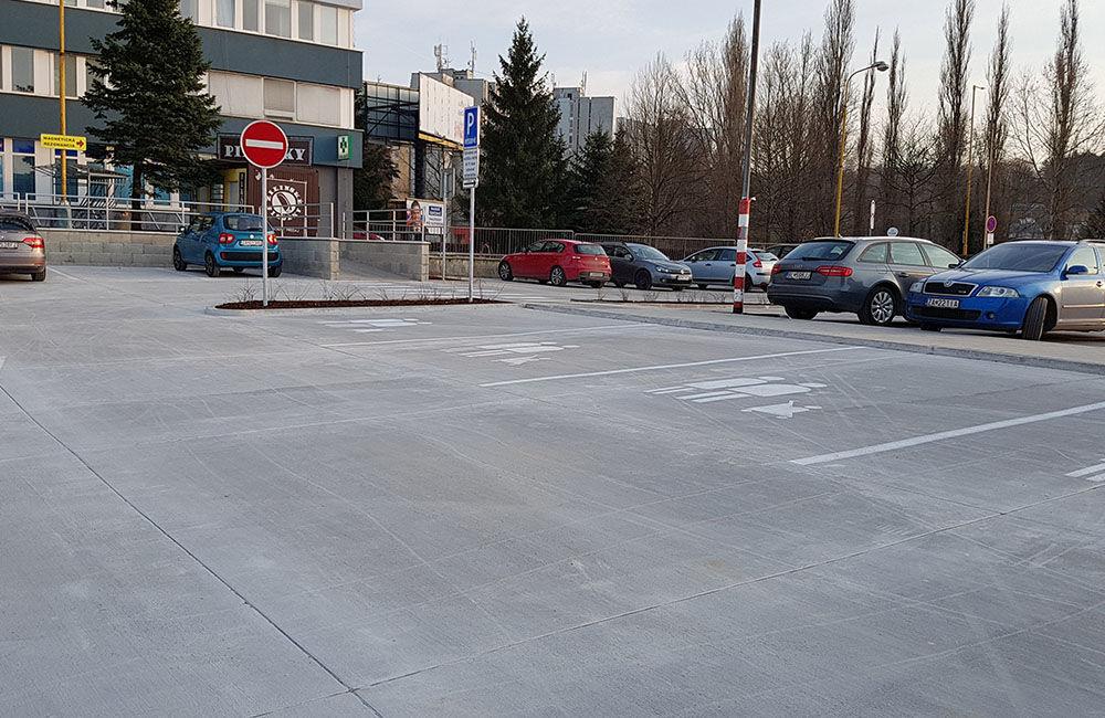 FOTO: Nové parkovisko pri predajni Kaufland a poliklinike ŽILPO bolo otvorené, foto 7