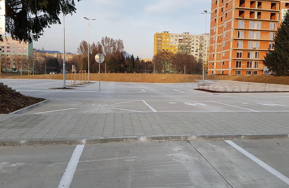 FOTO: Nové parkovisko pri predajni Kaufland a poliklinike ŽILPO bolo otvorené, foto 9