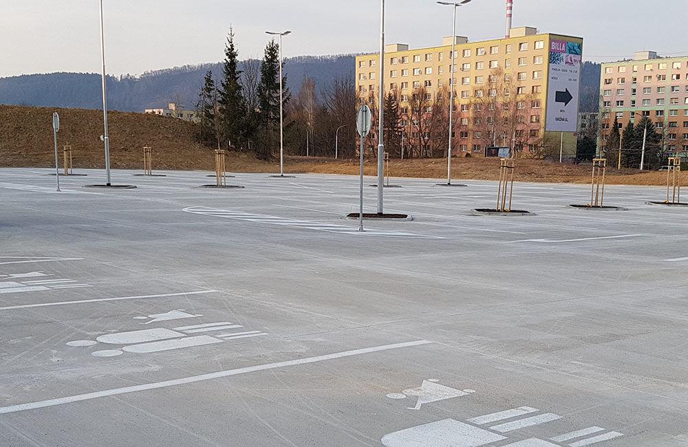 FOTO: Nové parkovisko pri predajni Kaufland a poliklinike ŽILPO bolo otvorené, foto 10