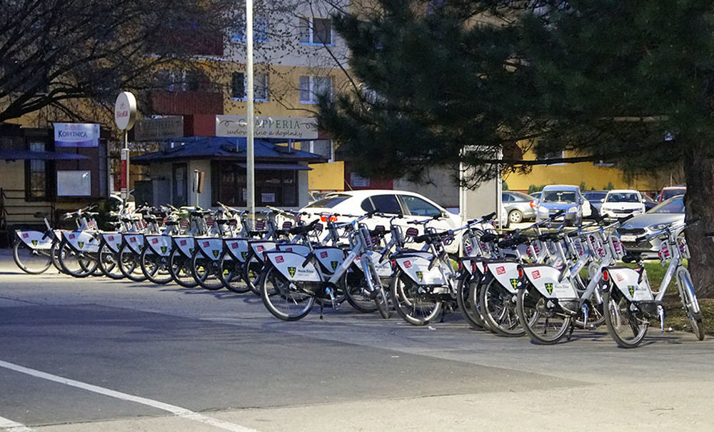 Bikesharing v meste Žilina láme po prvých dňoch od spustenia rekordy, foto 2