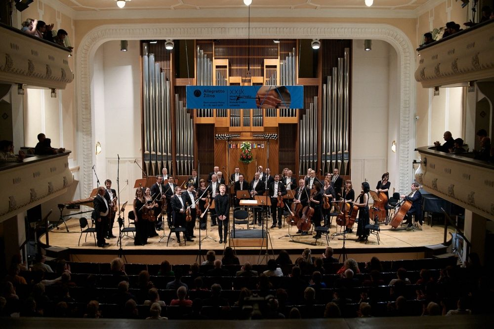 FOTO: Otvárací koncert medzinárodného festivalu klasickej hudby Allegretto Žilina 2019, foto 8