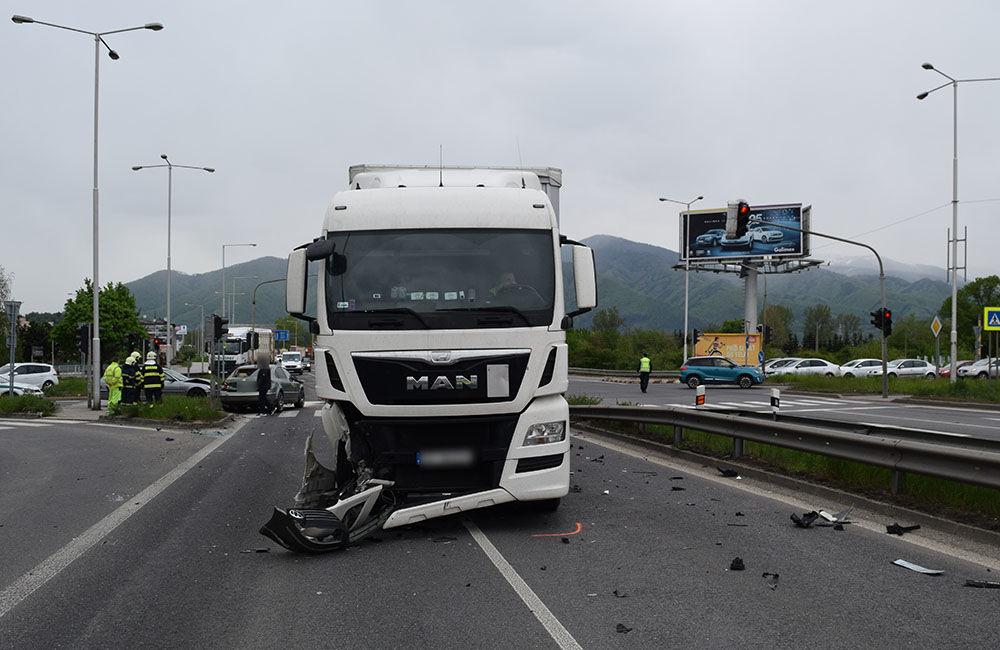 Dopravná nehoda v Martine 6.5.2019, foto 1
