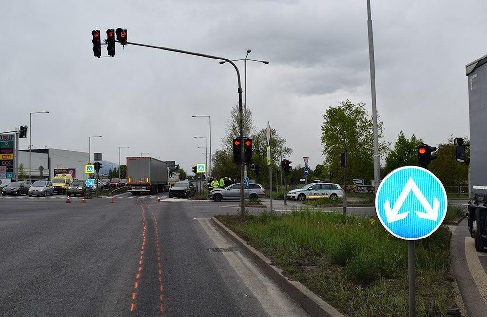 Dopravná nehoda v Martine 6.5.2019, foto 2