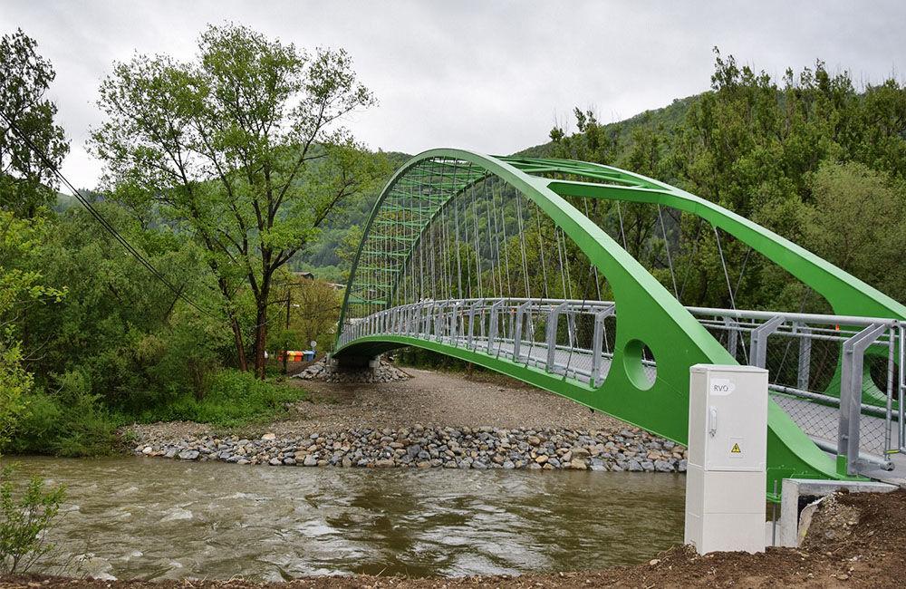 Slávnostné otvorenie lávky medzi mestskými časťami Vranie a Brodno, foto 1